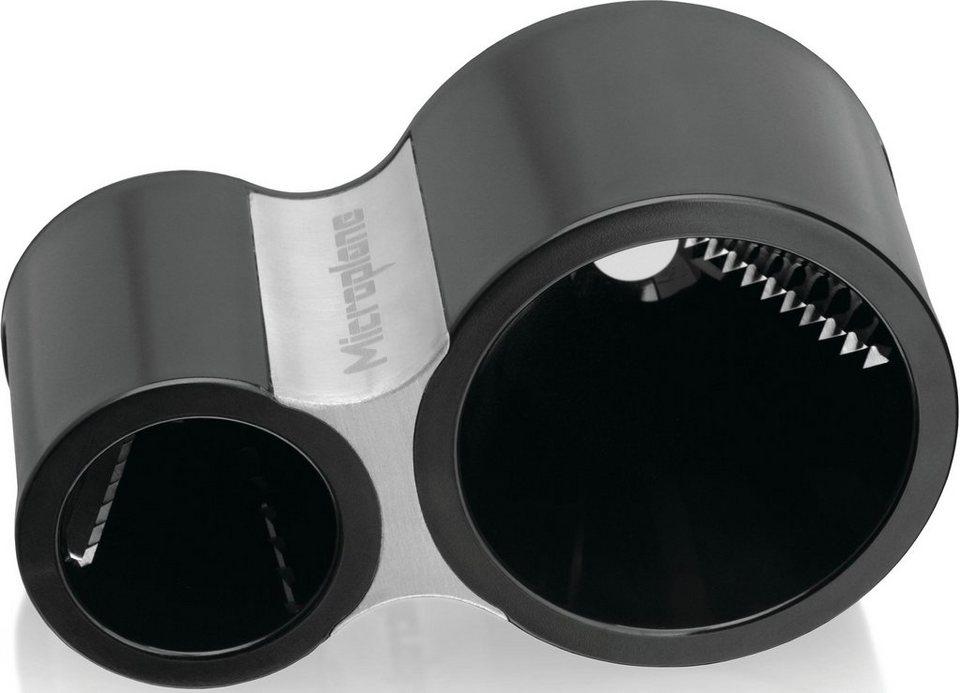Microplane Spiralschneider, 48000 in schwarz/silberfarben