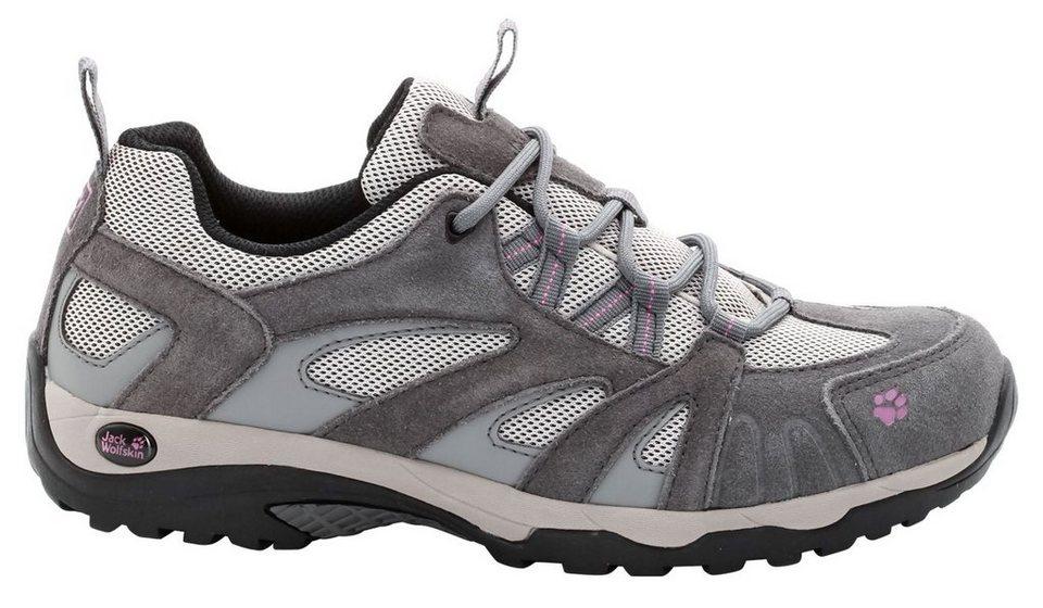Jack Wolfskin Kletterschuh »Vojo Hike Low Hiking Shoes Women« in grau