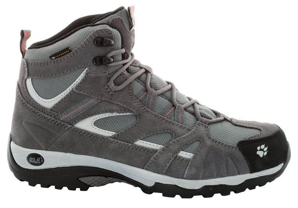 Jack Wolfskin Kletterschuh »Vojo Hike Mid Texapore Hiking Shoes Women« in grau