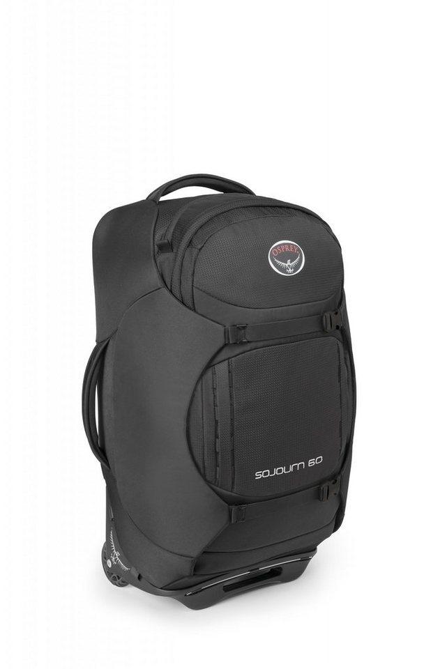 Osprey Sport- und Freizeittasche »Sojourn 60 Trolley« in schwarz