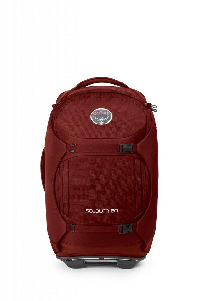 Osprey Sport- und Freizeittasche »Sojourn 60 Trolley« in rot