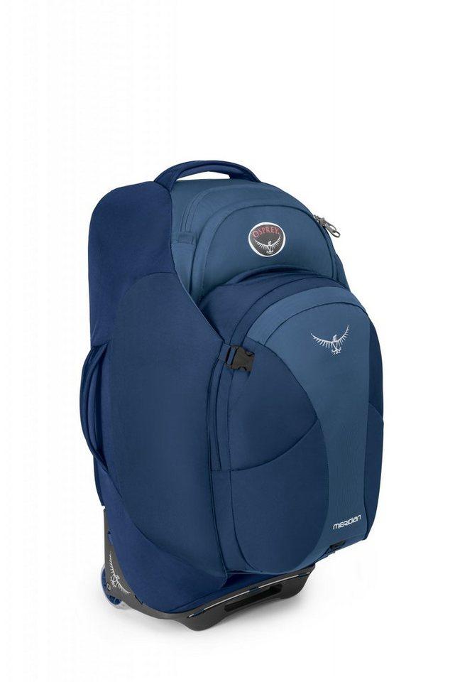 Osprey Sport- und Freizeittasche »Meridian 75 Trolley« in blau