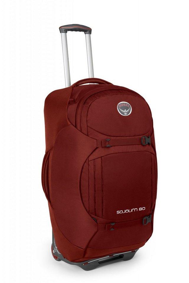 Osprey Sport- und Freizeittasche »Sojourn 80 Trolley« in rot