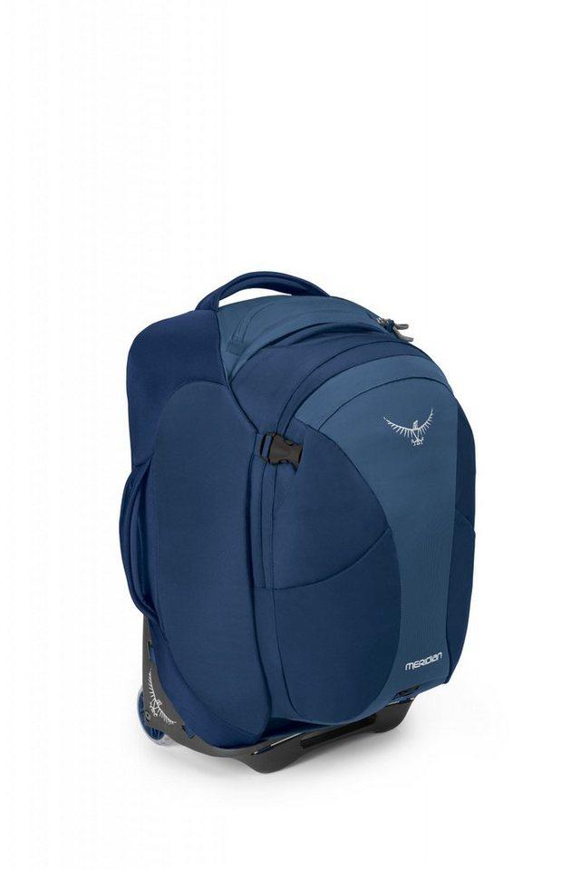 Osprey Sport- und Freizeittasche »Meridian 60 Trolley« in blau