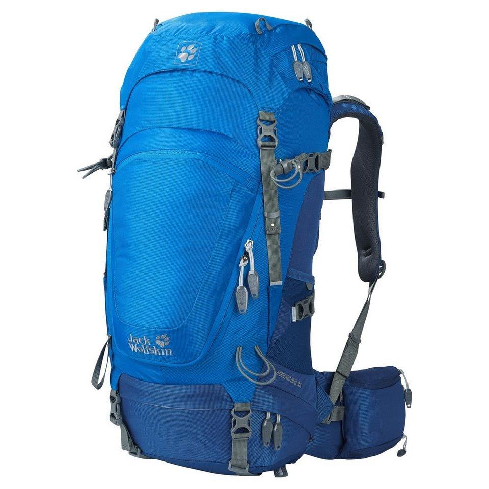 Jack Wolfskin Sport- und Freizeittasche »Highland Trail 36 Hiking Pack« in blau