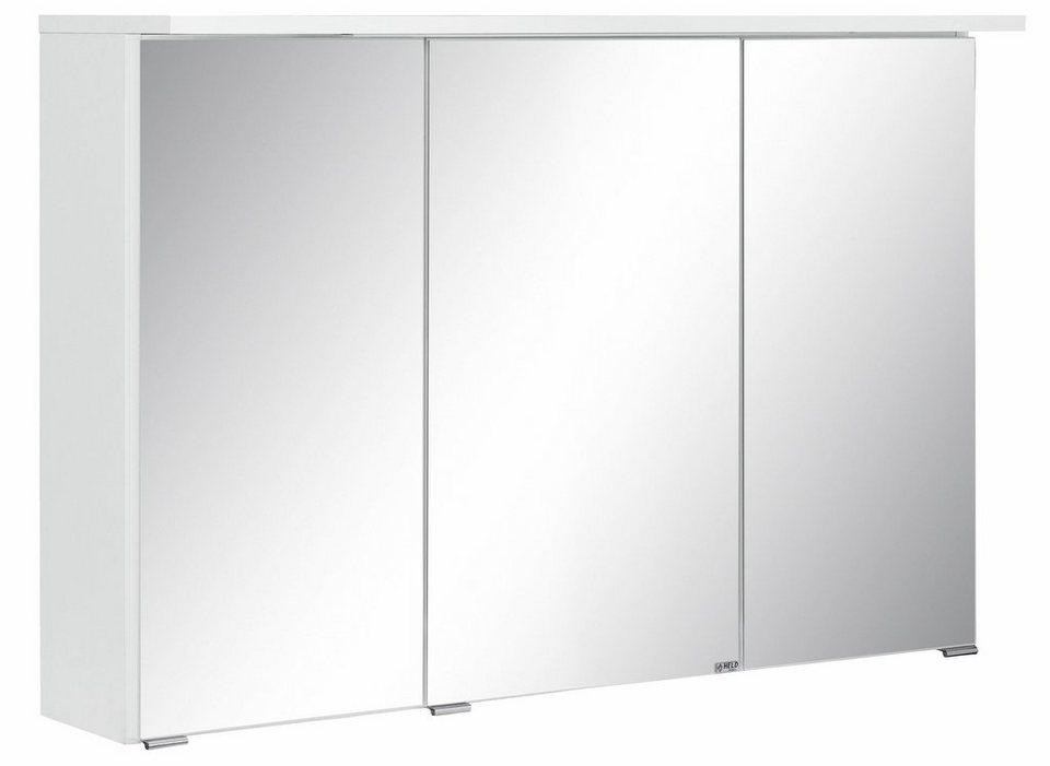 Held Möbel Spiegelschrank »Ravenna«, Breite 90 cm in weiß
