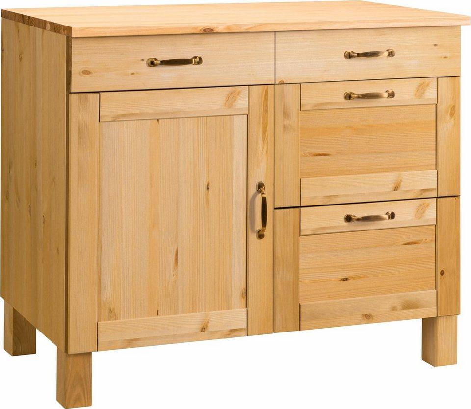 home affaire unterschrank alby breite 100 cm 1 t r 2. Black Bedroom Furniture Sets. Home Design Ideas