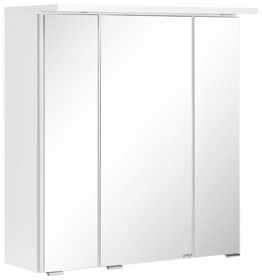 Held Möbel Spiegelschrank »Ravenna«, Breite 80 cm in weiß