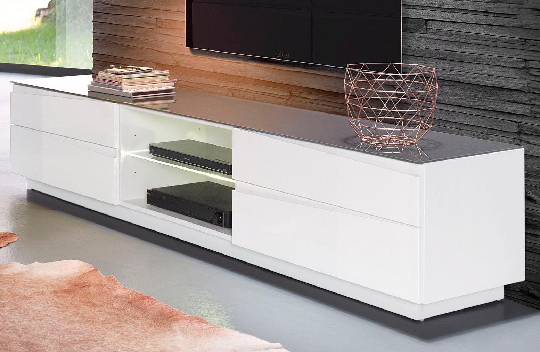 Homexperts Lowboard »Sharpcut«, Breite 199 cm