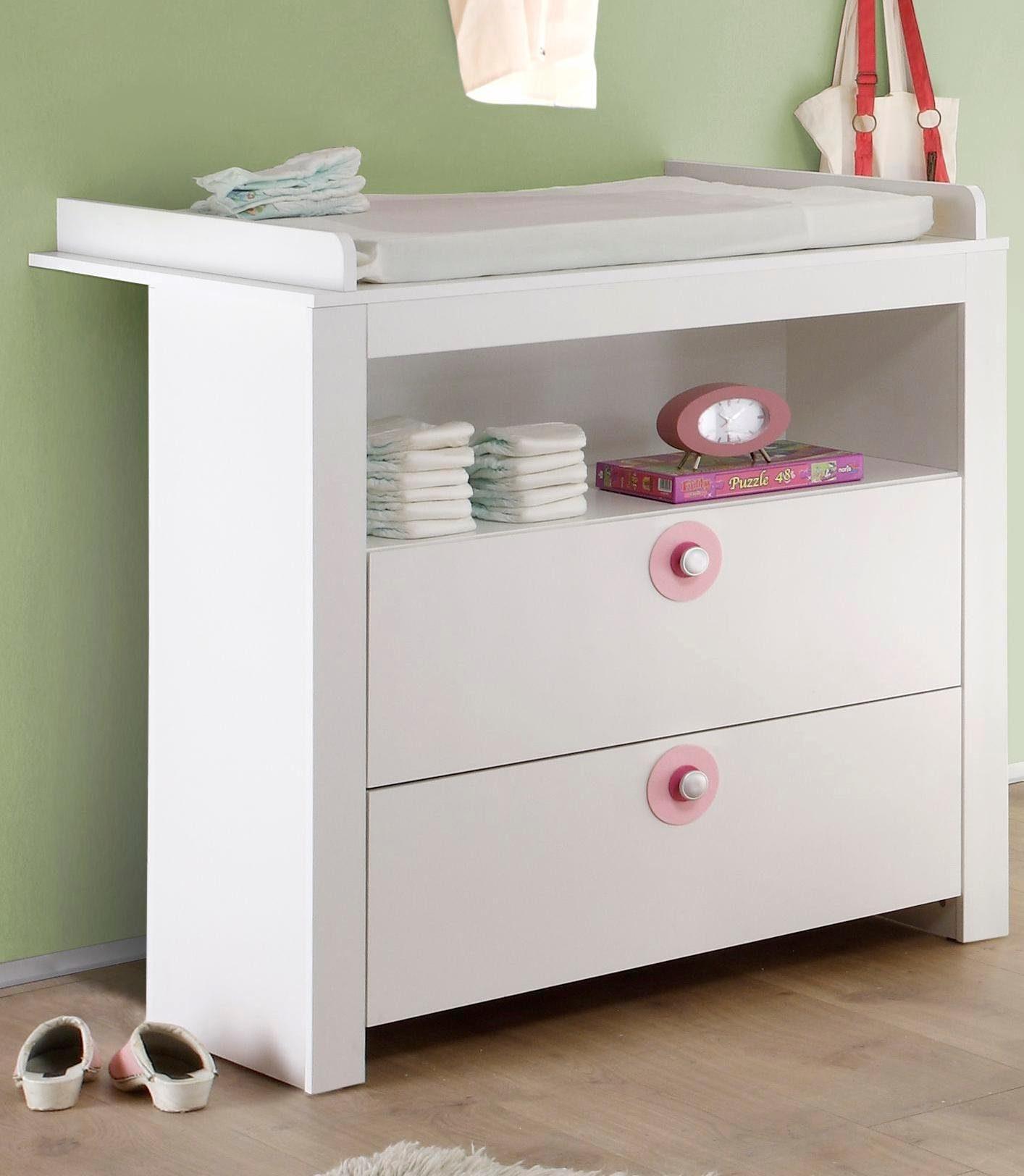 Wickelkommode zur Babymöbel Serie »Trend« in weiß