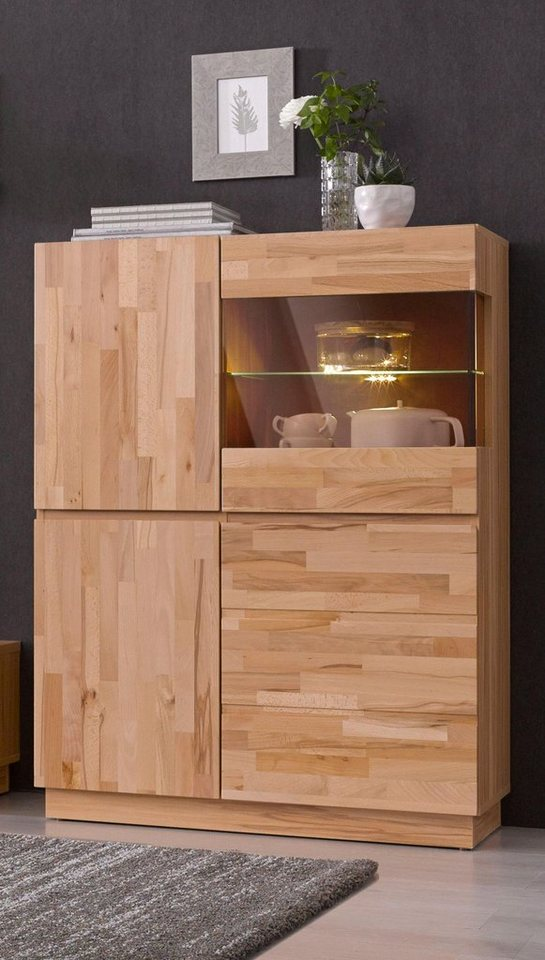 highboard h he 120 cm online kaufen otto. Black Bedroom Furniture Sets. Home Design Ideas