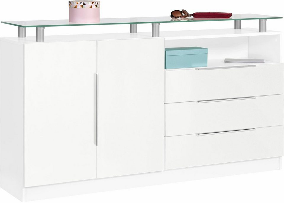 sideboard evo breite 152 cm online kaufen otto. Black Bedroom Furniture Sets. Home Design Ideas