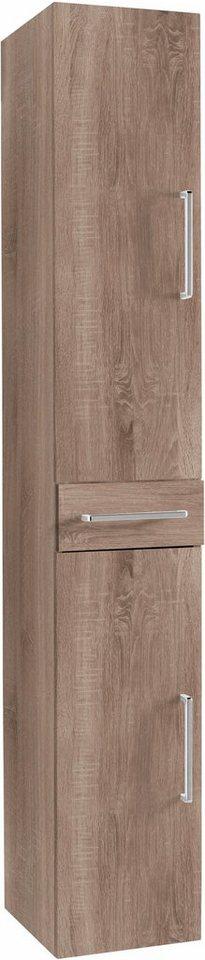 Optifit Hochschrank »Napoli«, 2 Türen, 1 Schublade in kastaniefb.