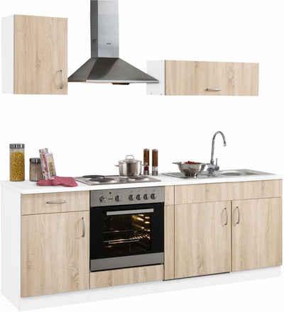 küchenzeile mit geräten kaufen » küchenblöcke | otto - Küche 210 Cm