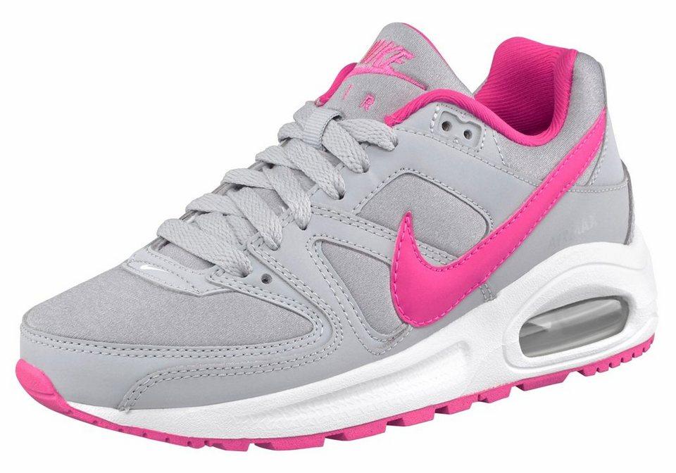 Nike Sneaker »Air Max Command Flex« in hellgrau-pink