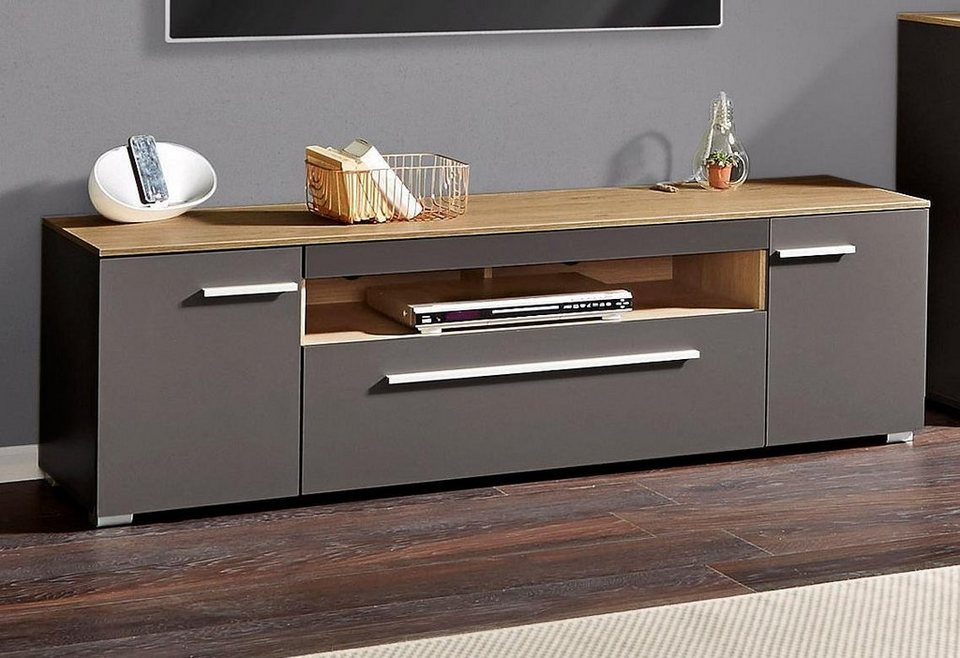 lowboard 160 bestseller shop f r m bel und einrichtungen. Black Bedroom Furniture Sets. Home Design Ideas