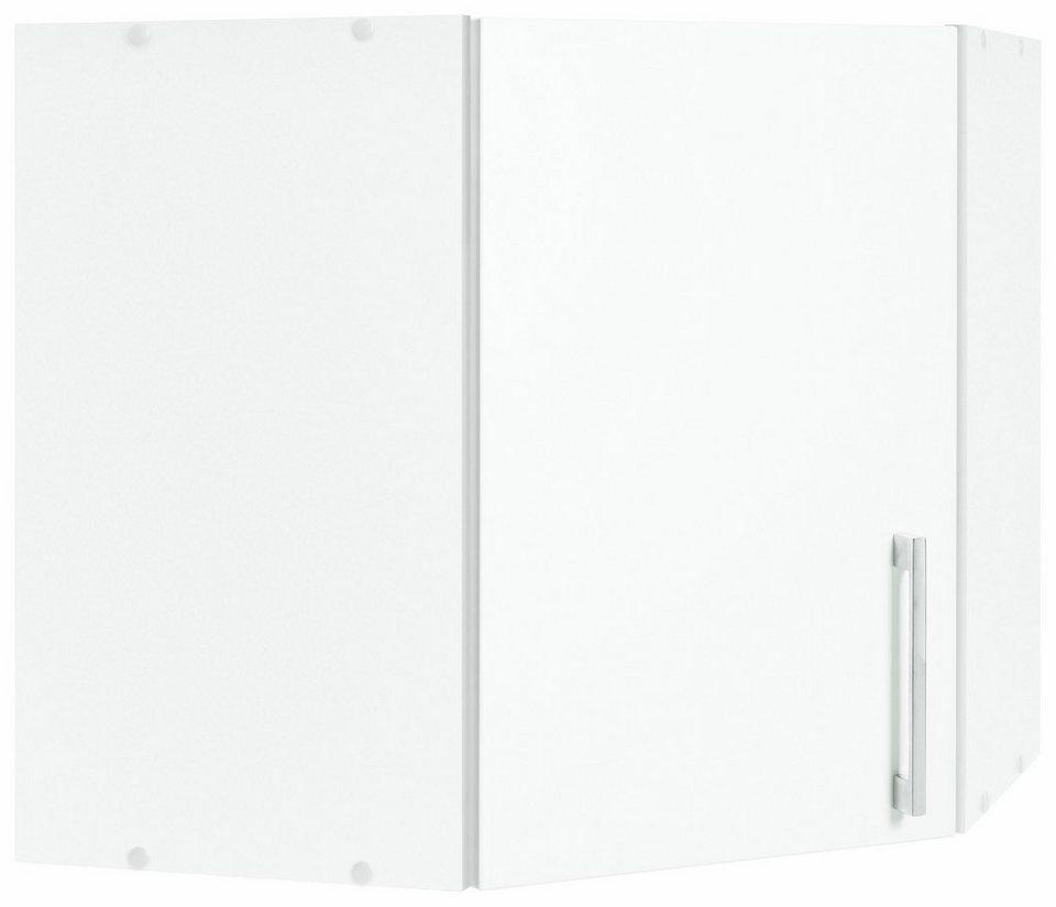 Held Möbel Eckhängeschrank »Tampa« in weiß