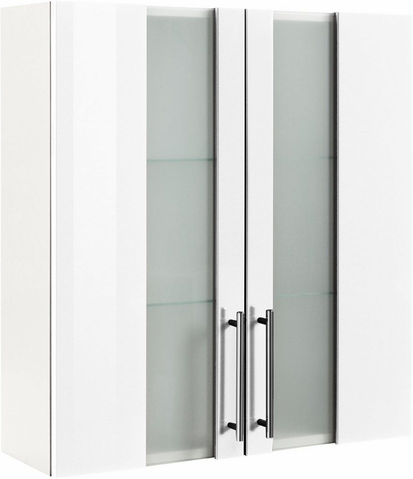 Hängeschrank, Kesper, »Visby«, Breite 65 cm in weiß-weiß