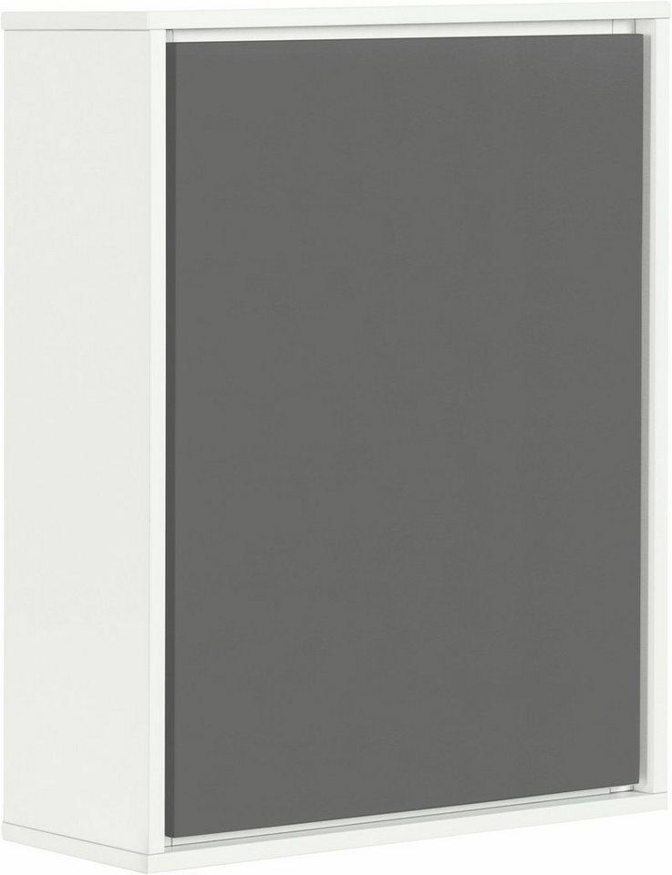 Schildmeyer Hängeschrank »Bodo« in weiß/basaltgrau
