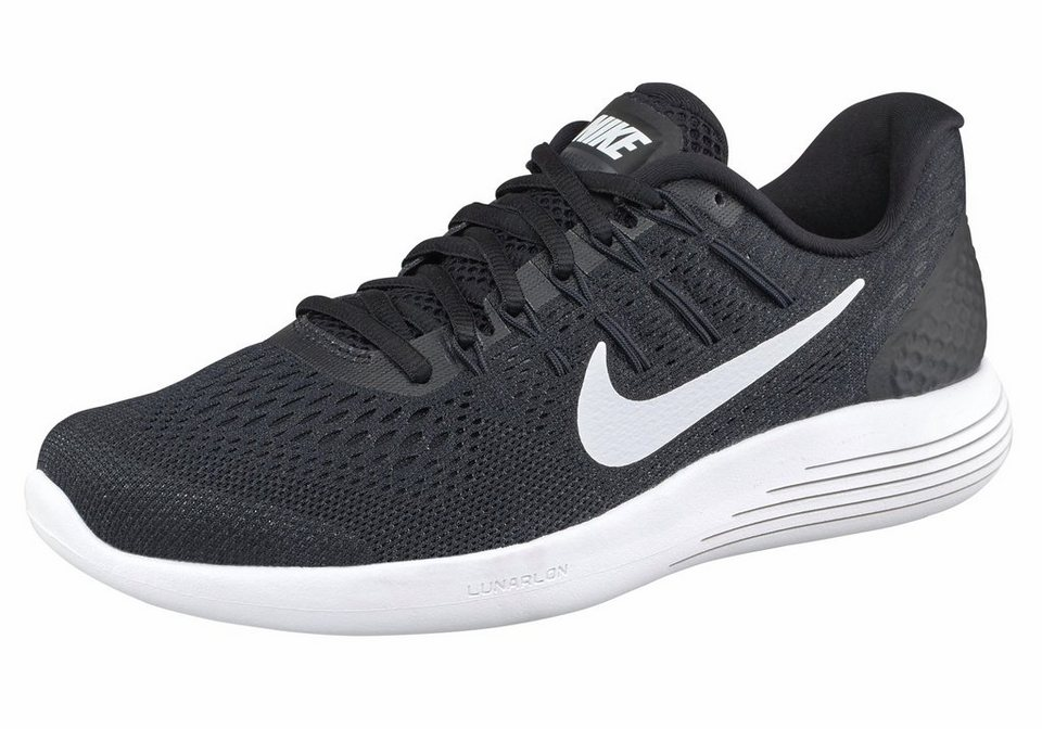Nike »Lunarglide 8« Laufschuh in schwarz-weiß