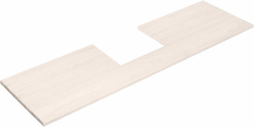Dunstabzugshauben-Umbauplatte »Alby«/«Sylt« in weiß