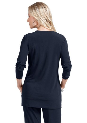 Fair Lady Shirtjacke mit Pailletten