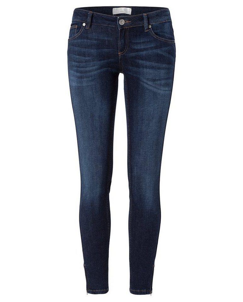 cross jeans super skinny 7 8 jeans mit rei verschluss am. Black Bedroom Furniture Sets. Home Design Ideas