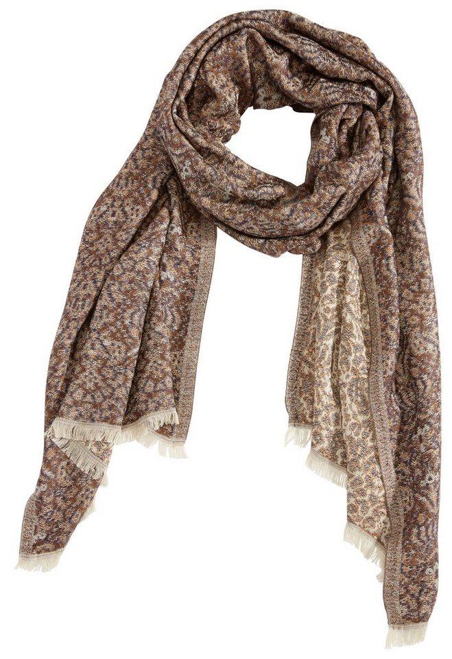 Schal in braun