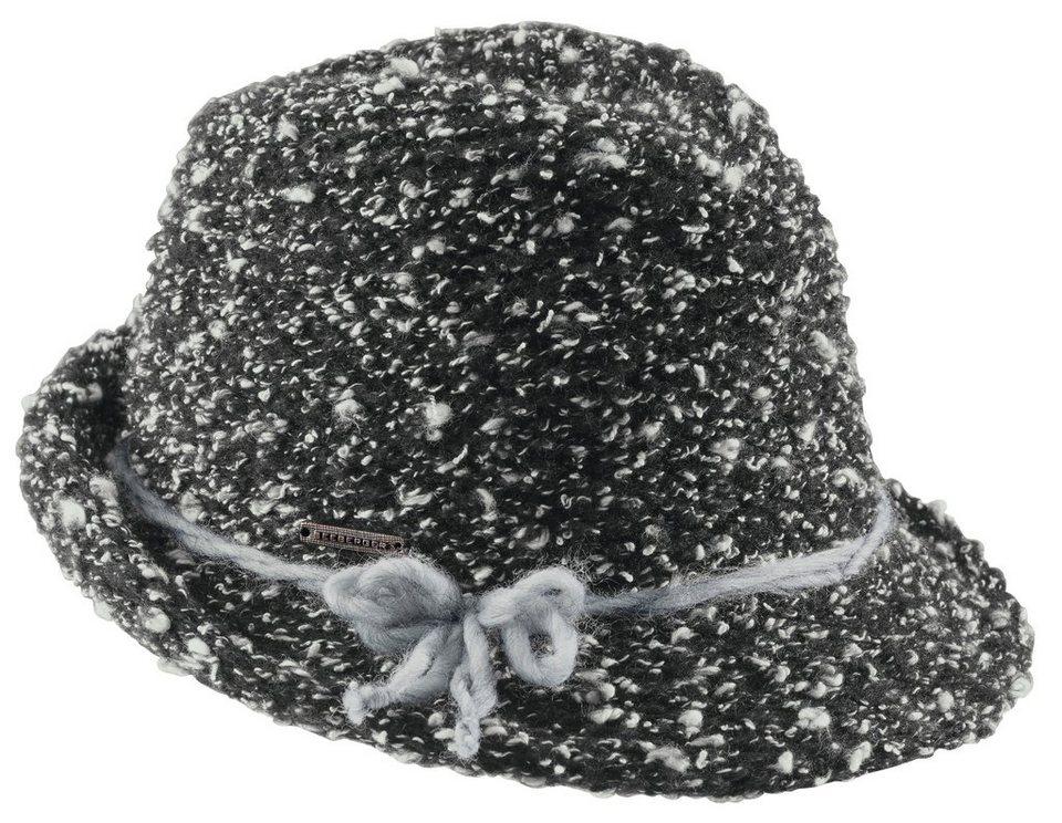 Hut von SEEBERGER in schwarz/weiß