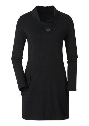 Ambria Longshirt in Wickel-Optik