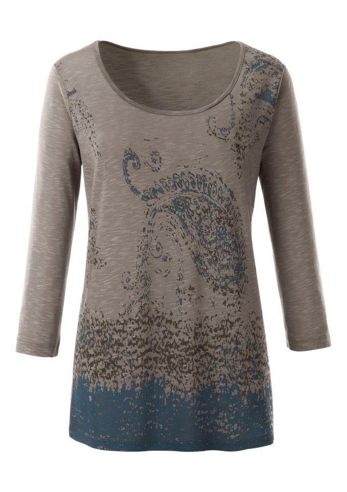 Ambria Shirt mit Paisley-Druck in beige-gemustert