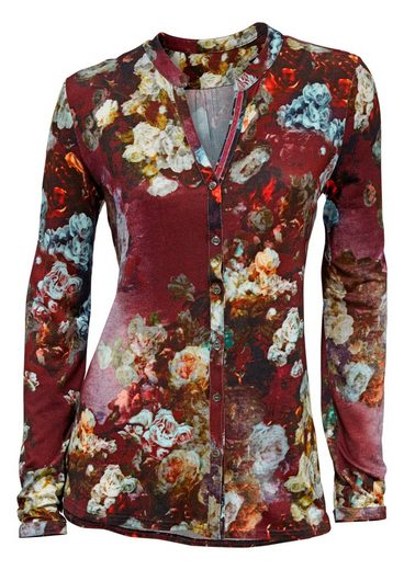 Classic Inspirations Floral Dessin In Shirt Blouse