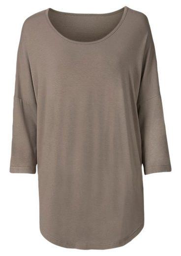 Classic Basics Longshirt mit 3/4-Ärmel