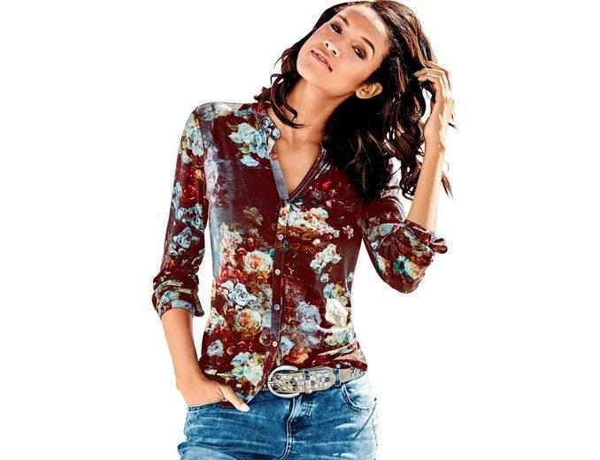 Classic Inspirationen Shirtbluse im Blumendessin Mit Mastercard IDzylLZ
