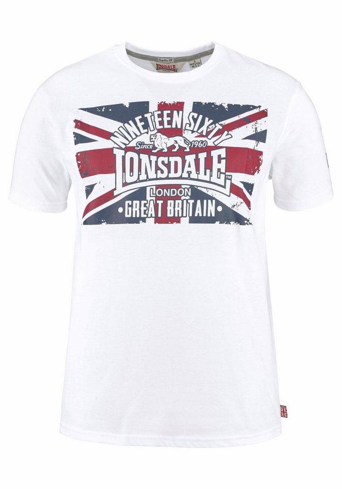 Lonsdale Rundhalsshirt »BRIGG« in weiß