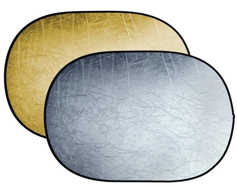 Bresser Fotostudio »BRESSER BR-TR5 Faltreflektor gold/silber 120x180cm«
