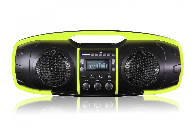 SDigital Bluetooth-Boombox (FM Radio, MP3-Wiedergabe) »Nuke«