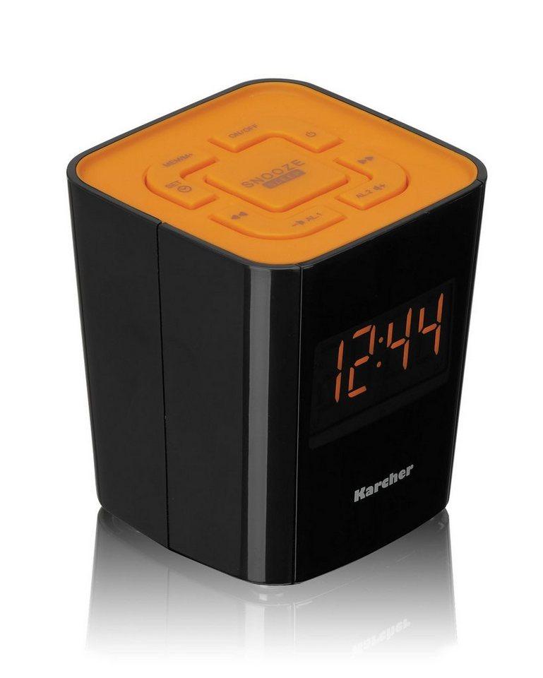 Karcher Radiowecker »UR 1020-O« in Orange