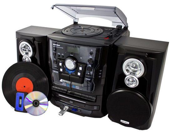 Karcher Kompaktanlage mit Plattenspieler »KA 350«