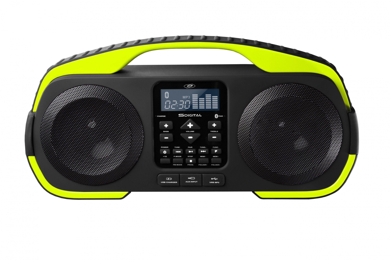 SDigital spritzwassergeschützter Bluetooth-Lautsprecher »Splash«