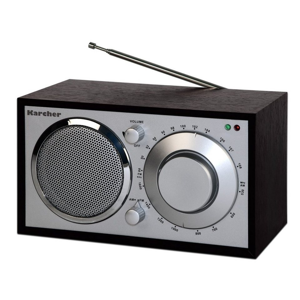 Karcher Nostalgie-Radio »KA 230-S« in Schwarz