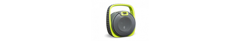 SDigital wasserdichter Bluetooth-Lautsprecher (FM Radio, MP3-Wiedergabe) »Submarine«