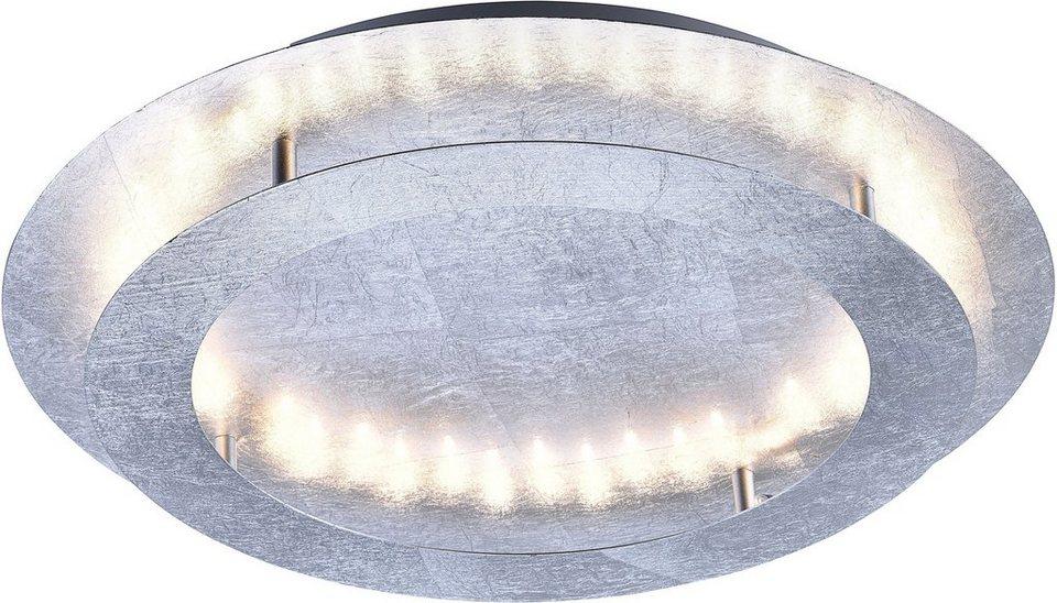 Paul Neuhaus LED-Deckenleuchte, 4flg., »NEVIS« in silberfarben