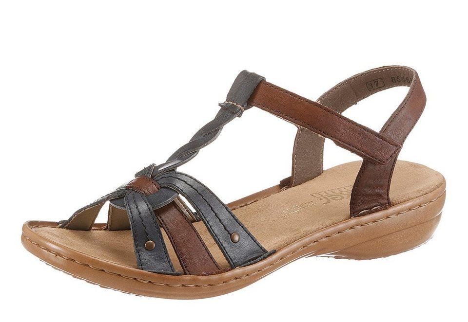 rieker sandale mit klettverschluss online kaufen otto. Black Bedroom Furniture Sets. Home Design Ideas