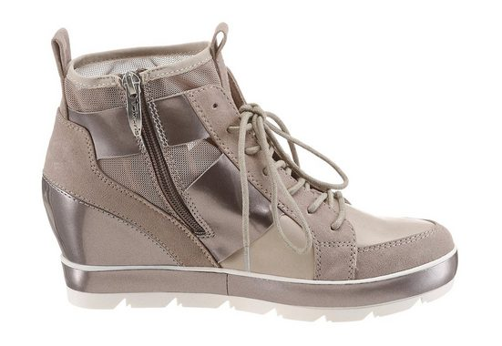 Tamaris Sneaker, mit schimmernden Highlights