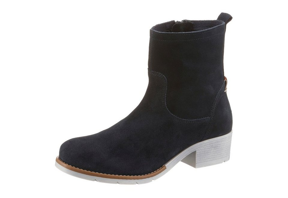 s.Oliver RED LABEL Sommerboots in navy