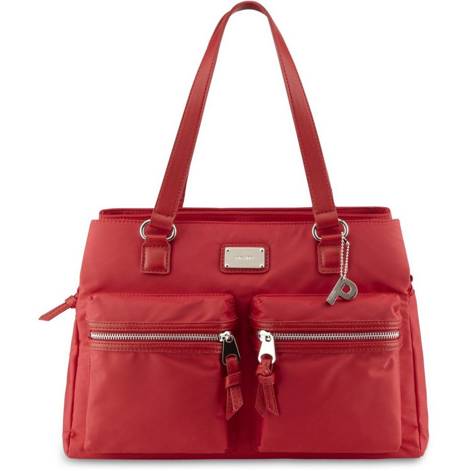 Picard Venice Shopper 37 cm in rot