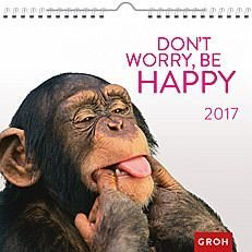Kalender »Don't worry, be happy 2017«