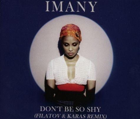 CD-Single »Imany: Don'T Be So Shy«