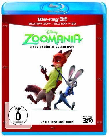 Blu-ray »Zoomania 3D«